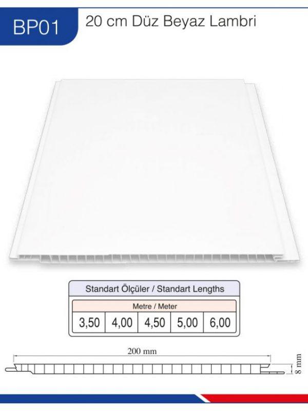 BP01-20cm-düz-beyaz-lambri