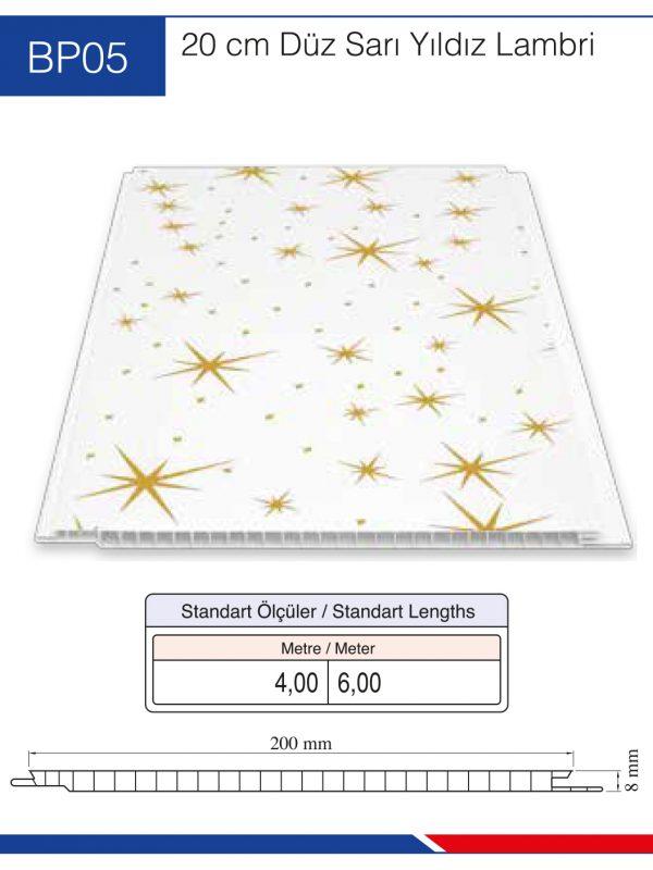 BP05-20cm-düz-sarı-yıldız-lambri