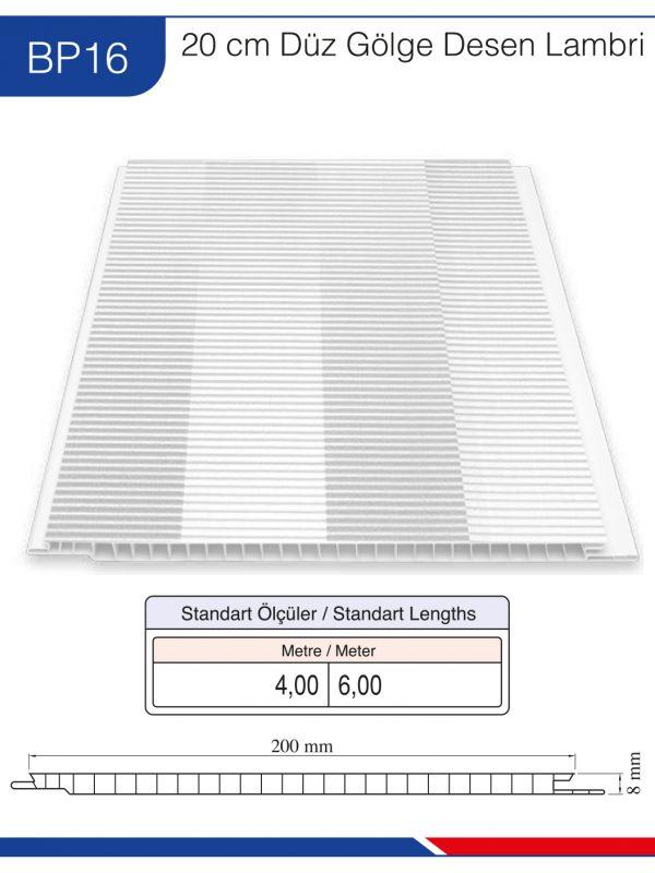 BP16-20cm-düz-beyaz-desen-lambri